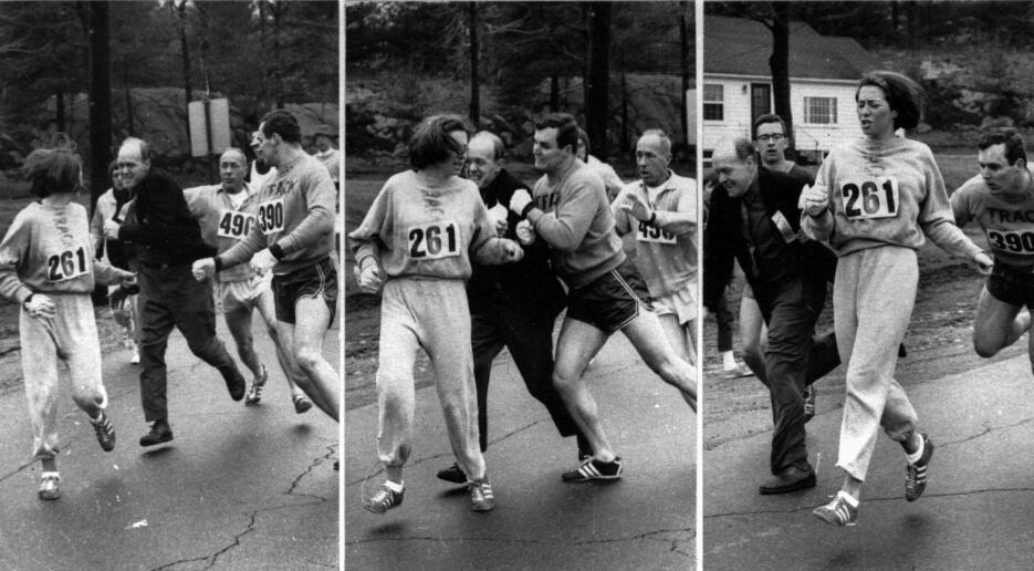 Primera Mujer Maratón de Boston