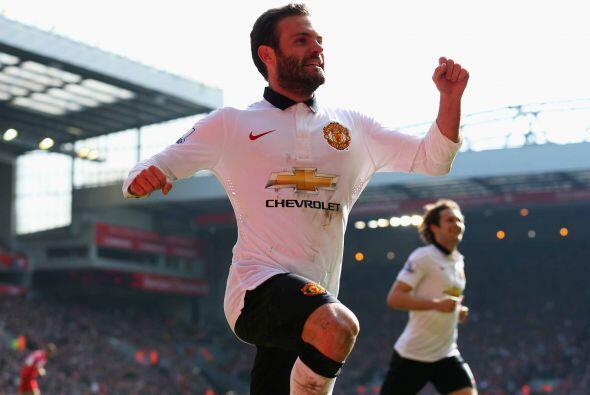 Juanito Mata estaba inspirado y marcaba su segundo gol del partido.