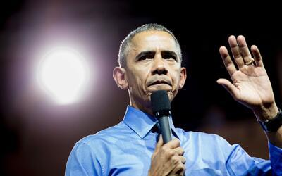 El expresidente de EEUU Barack Obama.