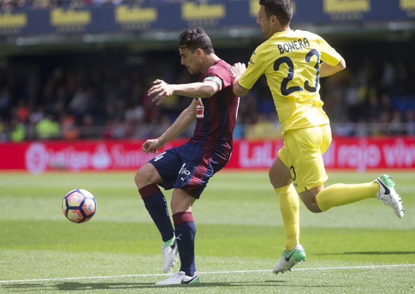 Eibar gana al Villarreal en duelo de aspirantes a Europa League 63626650...