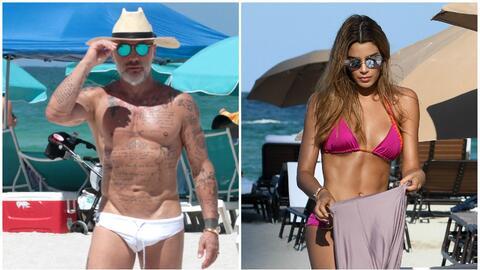 Gianluca Vacchi estuvo hace la semana pasada muy cerca de la modelo colo...