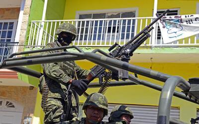 Los estados con mayor número de asesinatos en octubre fueron Baja...