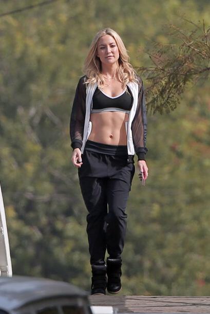 Cada vez que hace una aparición pública, la actriz Kate Hudson nos sorpr...