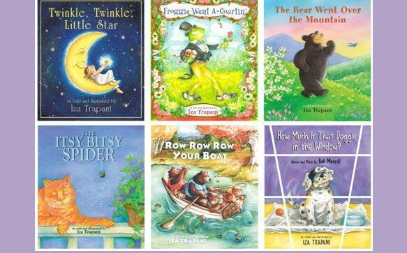 La autora Iza Trapani es conocida por sus bellos libros ilustrados de ca...