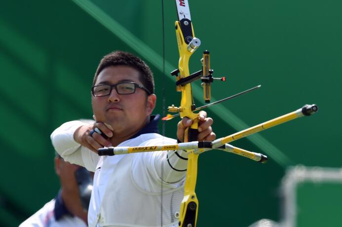 El surcoreano Kim Woo-Jin fue sorprendido en la segunda ronda del tiro c...