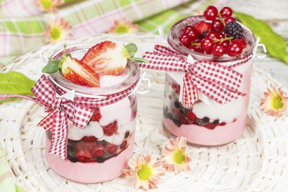 Una gelatina baja en grasas con gelatina Puedes preparar gelatina de yog...