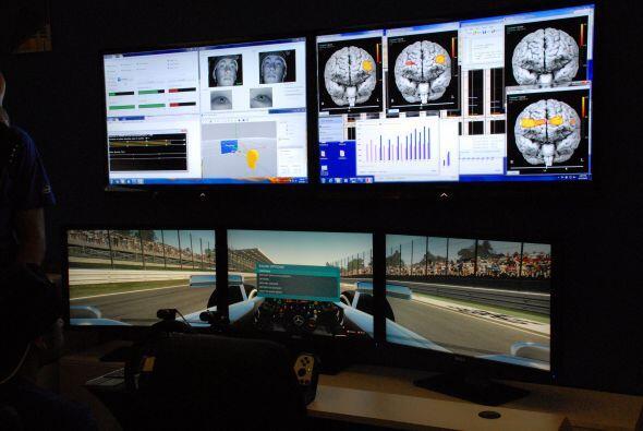 En esta demostración se mide como trabaja el cerebro cuando manejamos y...