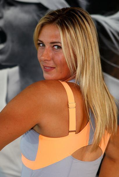 Además de talentosa, Maria Sharapova es muy bella y sensual.