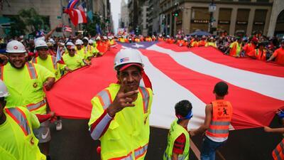 Desfile Nacional Puertorriqueño en Nueva York: los boricuas recuerdan que siguen luchando por recuperarse