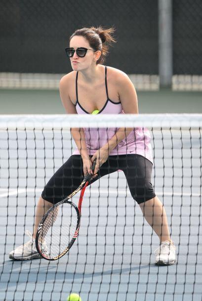 """""""Soy una tenista frustrada, en la cajuela de mi coche siempre traig..."""