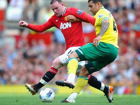 Manchester United se midió al ascendido Norwich City en busca de...