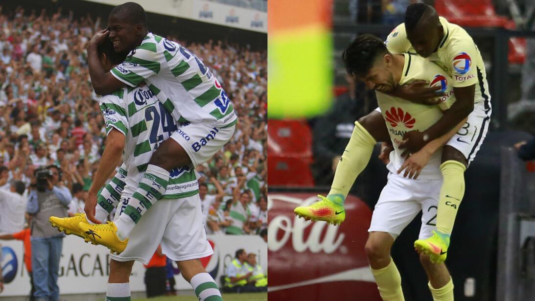 Santos Laguna y sus 'contribuciones de talentos'  al América Getty-prime...