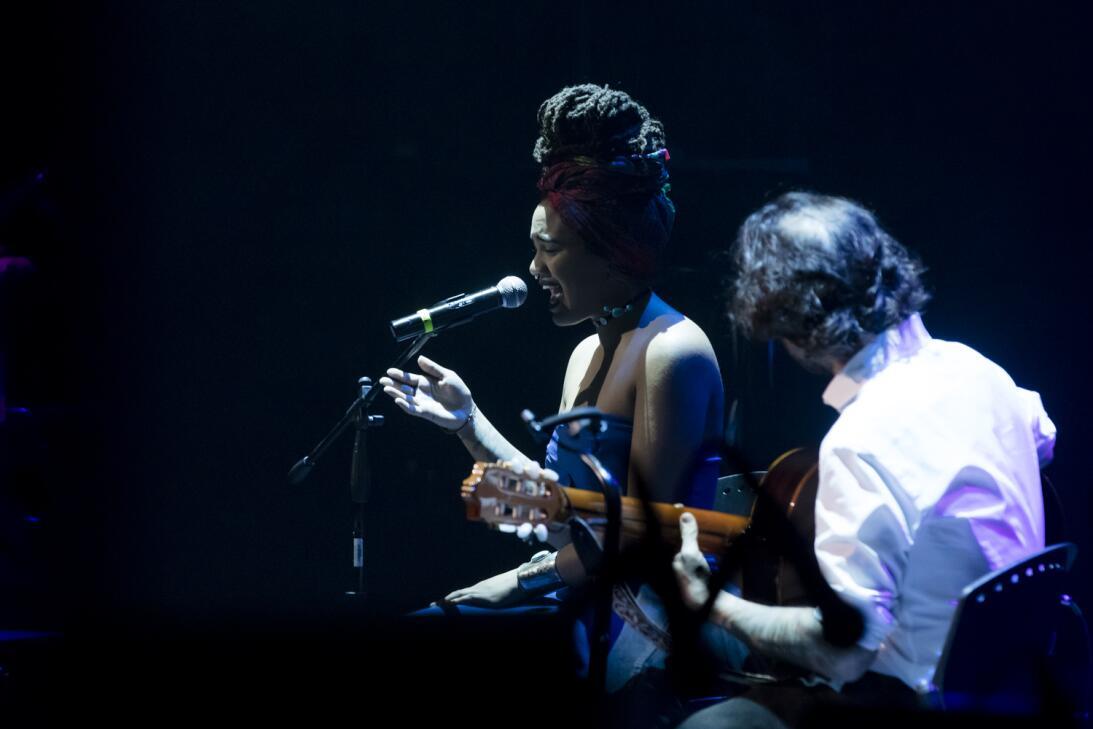 Así se vivió la previa del concierto Caminos de ida y vuelta TONINA_Juan...