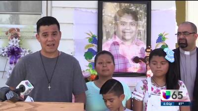 Padres de menor asesinada hablan ante las cámaras