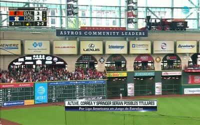 Contacto Deportivo Houston: Astros con buen panorama para Juego de Estre...