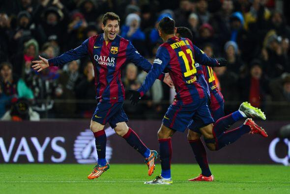 La remontada les dio confianza al Barcelona, quien comenzó un ataque ava...