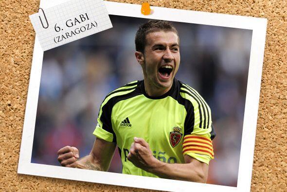 El español Gabi, merecidamente, está en la mitad del campo de este equipo.