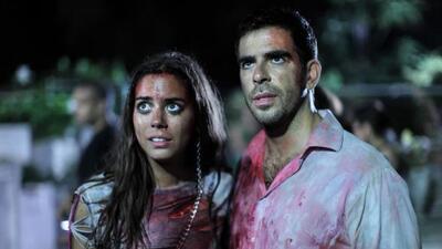 Lorenza Izzo y Eli Roth protagonizan esta película