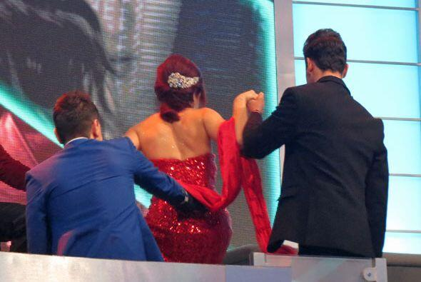 Pero antes de que empiece el show, ¡les dio por bailar a los final...