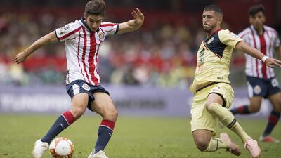 Los 10 mejores   América sacó el empate en el Clásico Nacional en el Estadio Azteca