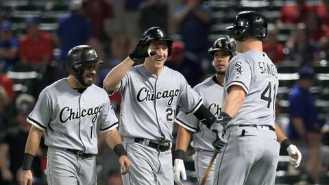 Chicago venció 8-4 a Texas