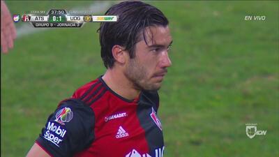 Vigón tuvo el empate, pero Florencio Morán se hizo grande y lo evitó