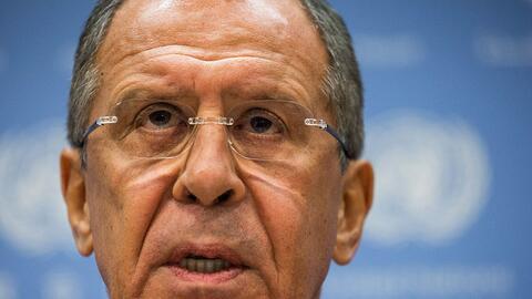 La visita de Sergey Lavrov será el contacto de más alto ni...