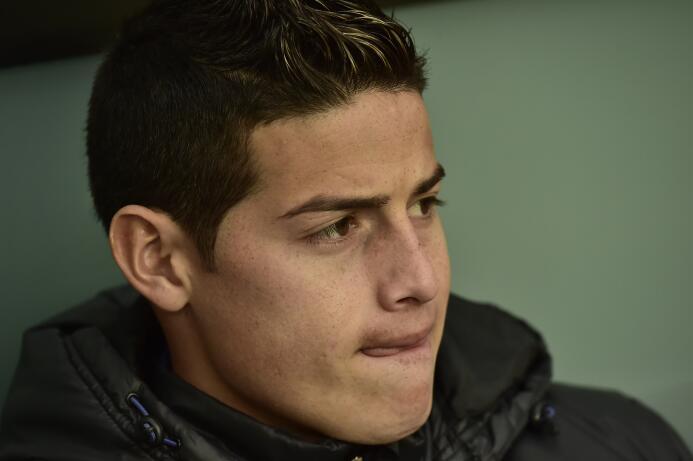 Colombia, el refugio de un James olvidado por el Real Madrid AP_79324969...