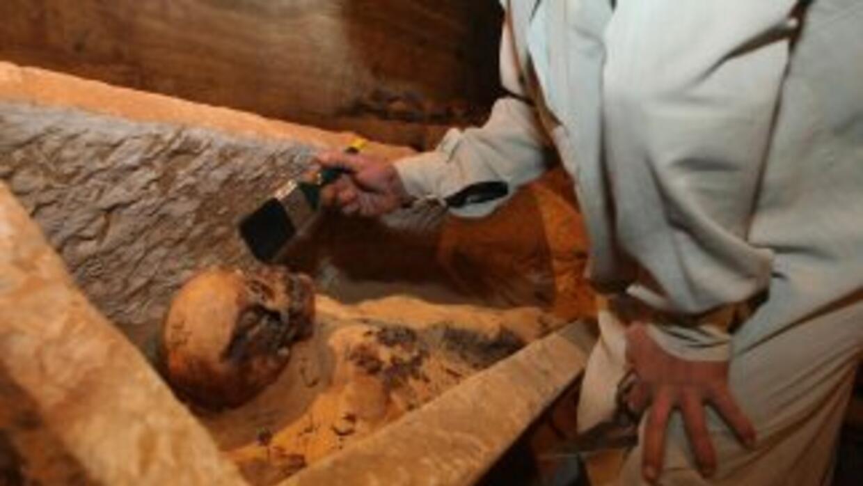 Expertos creen que la familia de los faraones utilizaron la tumba a lo l...