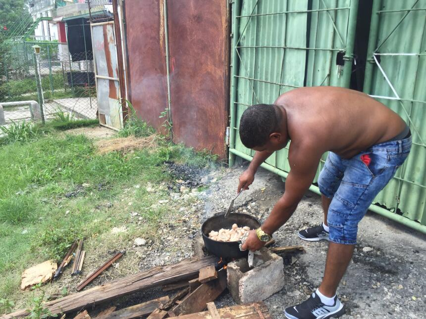 Regla's mother lives in Vieja Linda, a barrio of pot-holed streets i...