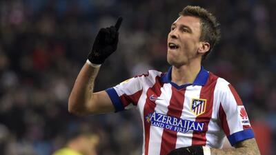 El delantero croata es valorado en el Atleti por el 'Cholo' Simeone.