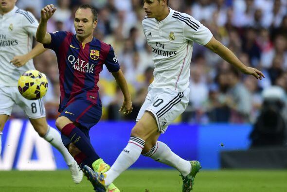 Real Madrid y Barcelona se enfrentaron por primera vez en la temporada 2...