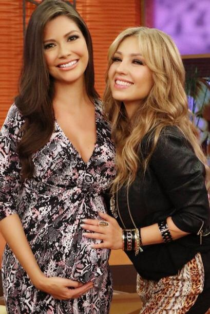 """""""¡Thalia en Despierta América!"""", dijo Ana. (Febrero 24, 2015)"""
