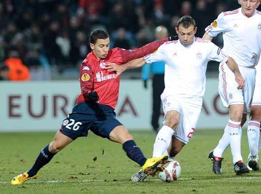 En Francia, el Lille recibió la visita del Liverpool.