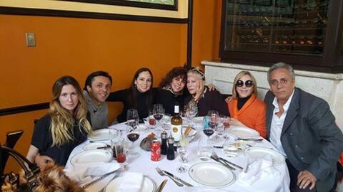 Cumpleaños madre de Verónica Castro