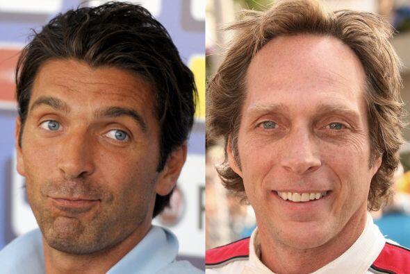 Deben aceptarlo, el arquero italiano Gianluigi Buffon y el actor William...