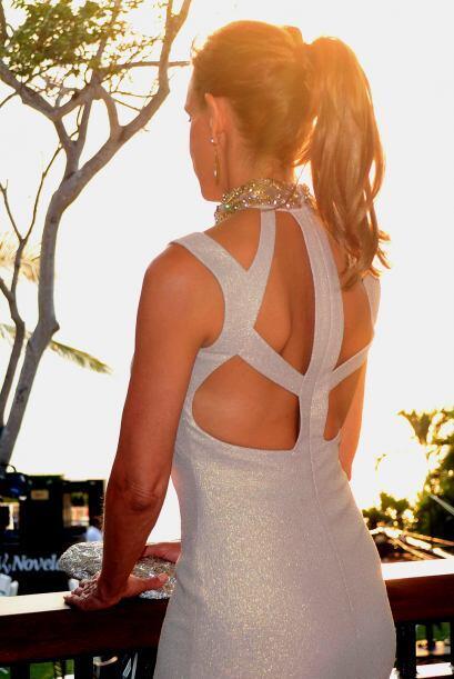Un vestido que la hizo ver muy sexy.