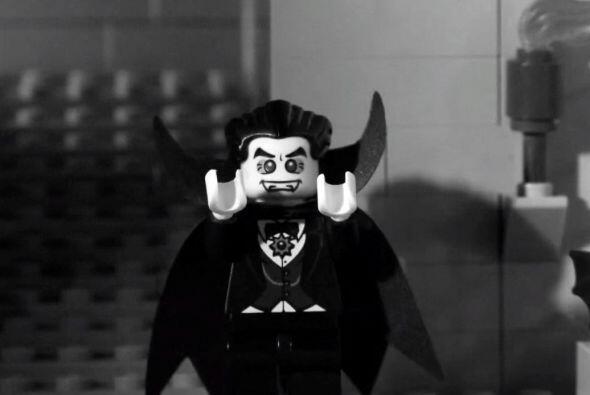 Drácula también formó parte del vídeo clip.