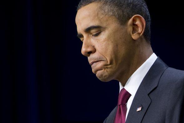 El año que se acaba empezó mal para Barack Obama, y no mej...