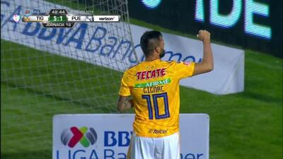 ¡'Hat-trick' de Gignac! Llega el quinto para Tigres
