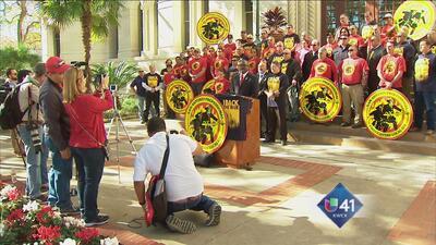 Policías y bomberos piden retirar demanda