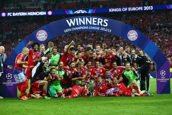 Pero un año más tarde, el Bayern Múnich logró levantar el título al venc...