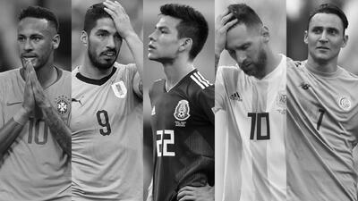 ¡Adiós, América! Europa se adueñó del Mundial al eliminar a Brasil y Uruguay en cuartos de final