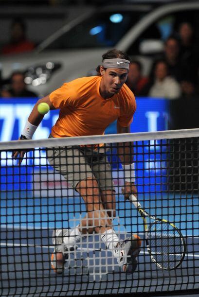 Nadal venció a Djokovic en dos sets (7-6, 6-3).