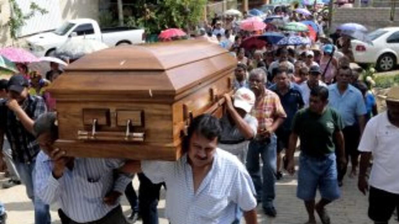 Funeral del reportero Jorge Torres, uno más de los periodistas que han s...