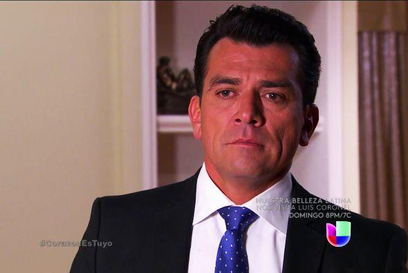 ¡Vamos Fernando! Ya perdónala, estás cerrándole la puerta al amor.