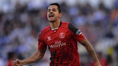 El extremo del Sevilla marcó un doblete para remontar al Dépor en Riazor.