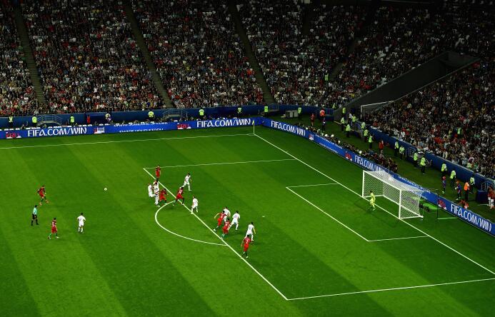 Chile, finalista de la Copa Confederaciones tras intenso partido contra...