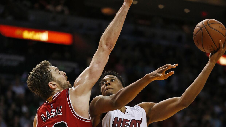 Miami fijó un récord de acierto para la franquicia, con un 67.5 por ciento.