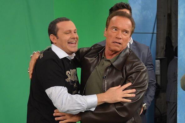 Arnold Schwarzenegger y Joe Manganiello